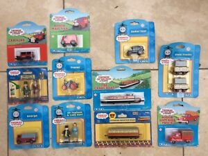 ERTL Thomas & Friends Trains Figures Cars Trevor Caroline Sir Topham Sodor Taxi