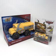 Disney Pixar Cars 3 Bundle - Miss Fritter - Splash Racers & Mud Racing - SEALED