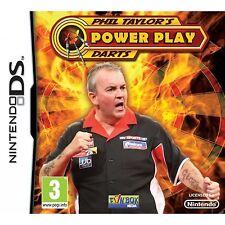 NDS Nintendo DS Lite, DSi XL juego Phil Taylor 's Power dardos nuevo