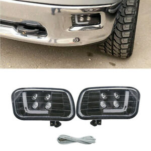 LED Driving Fog Light Lamp DRL Fit For Dodge Ram 1500 2500 3500