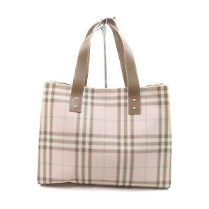 Burberry London Tote Bag  Pinks PVC 2305404