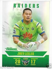 2017 NRL Traders Parallel Special (PS016) Joey LEILUA Raiders
