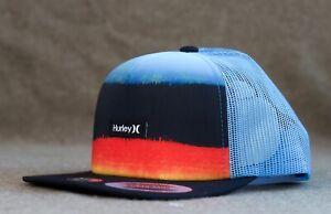 New Hurley Surfing (Boys Youth) Mixtape Trucker Hat Snapback HTHRL-2