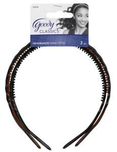 GOODY - Classics Basket Weave Braided Headbands - 2 Count