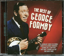 BEST OF GEORGE FORMBY CD, WHEN I'M CLEANING WINDOWS, LEANING ON THE LAMP POST