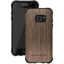 Ballistic Urbanite Select Samsung Galaxy S7 Edge Case - Black/Dark Ash Wood