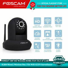 Foscam Refurbished FI9821P 720P HD Wireless Pan Tilt Home Security IP Cameras