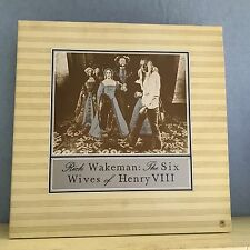 RICK WAKEMAN The Six Wives Of Henry VIII  UK vinyl LP EXCELLENT CONDITION 8th