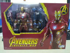 S.H.Figuarts SHF Avengers Infinity War IRON MAN MK50 & Tamasni Stage Deluxe Box