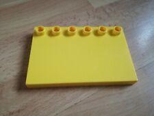 Lego Duplo 31465 Plate Doll Flat Tile 4 x 6 Yellow