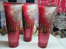 Bath and Body Works 3 ~ FOREVER RED ~ 24 hour Ultra-Shea Body Cream