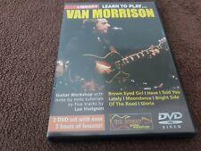 Lick Library: Learn To Play Van Morrison Gitarre DVD (Region 0)