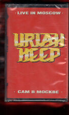 URIAH HEEP-LIVE IN MOSCOW MUSICASSETTA MC MC7 K7 NEW SEALED