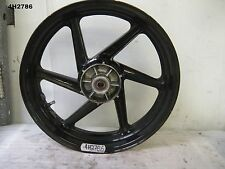 HONDA CBR 250 RR MC22 ALL YEAR REAR WHEEL GENUINE 17 X 4 PAINT CHIPS  4H2786