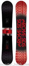 Nuevo en Plástico Rome Sds Línea Cabeza Snowboard 156cm Camber Rareza Limitado