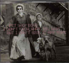 Pet Shop Boys-I Dont Know what You Want cd maxi single