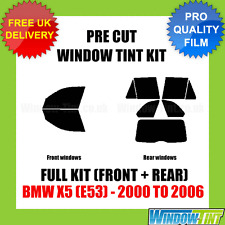 BMW X5 (e53) 2000-2006 Full Pre Cut Window Tint Kit