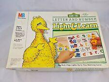 Light & Learn Sesame Street & Disney Game Cards Milton Bradly 1987