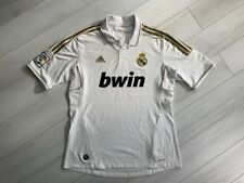 REAL MADRID HOME FOOTBALL SHIRT 2011/2012 SPAIN MEN'S JERSEY ADIDAS SIZE L
