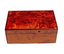 SPAIN-Mappa Burl Medium Cigar Humidor 75CT