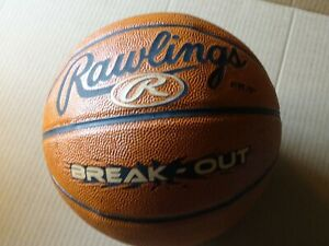 Rawlings Break-Out Indoor Composite 28.5 Inch Basketball Brown New