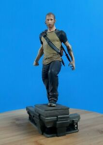 "Infamous 2 Cole McGrath Statue 8.25"" Tall SCEA LLC Collectible Figurine 2011"