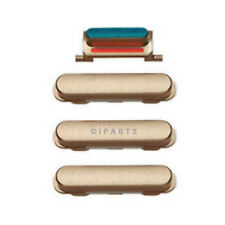 """Volume Power Button Vibrate Mute Side Switch Set for iPhone 6 PLUS 5.5"""" (Gold)"""
