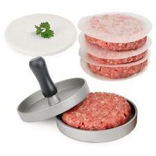 Cuisine diy hamburger presse viande patty mold maker metal machine 12cm/4 .8 pouces neuf