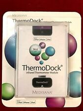Medisana ThermoDock Infrared Thermometer for iPhone,iPod & iPad * RRP £69.99 New