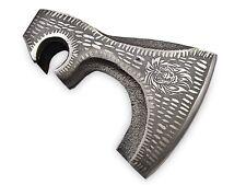 6073-CUSTOM HANDMADE D2-STEEL AXE HEAD (DIY KNIFE MAKING)