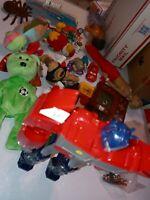 Lot Of toys action Figures  Vtg/ Now Junk Drawer HOT WHEELS DIECAST #10 HUGE!