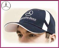Mercedes-Benz Baseball Cap Hat. 100% cotton. Dark blue color. Adjustable size!