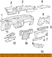 Honda Genuine 77520-SR3-003ZD Glove Box Lock Assembly