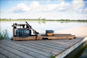 NEU! Faltbares Wasser-Rudergerät von RUDERGLÜCK ® Echtholz: Amerikanische Esche