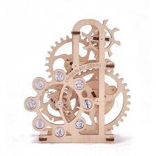 UGEARS DYNAMOMETER Mechanical 3D Wooden Puzzle Construction DIY Set
