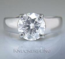 Natural Engagement Excellent Cut VS2 Fine Diamond Rings