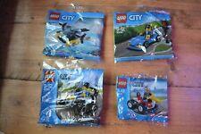 LEGO CITY MINI SETS 30346 30228 30010 30349 NEW SEALED BAGS