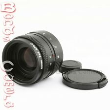 New 50mm f/1.8 C mount CCTV Lens for APS-C sensor Sony E NEX-7 5T 6 A5100 A6000