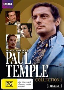 Paul Temple : Collection 1 (DVD, 2010, 3-Disc Set)**R4**Terrific Condition