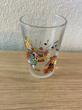 More details for vintage asterix  and oblisx collectable drinking glass paris 1968