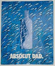 Aboslut Dad Sperm Tie - In Original Packaging
