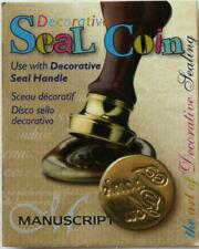 Manuscript Decorative Wax Sealing 18mm Coin Seal - Thank you