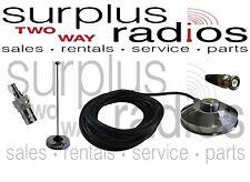 Race Car VHF Magnet Mount Antenna kit Motorola CP200 CP200D CP150 PR400 EP450