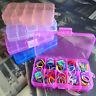 Aufbewahrungsbox mit Deckel Kunststoffbox Box Boxen Stapelboxen 5 Farben Ne G0T3
