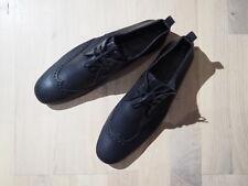 HESCHUNG Paris Handmade Chaussures Cuir Noir Femme/Homme Taille 41,5 EUR 395,00