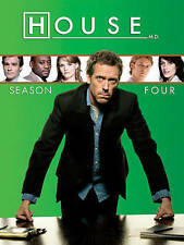 House M.D. Season Four 4 (DVD, 4 Disc Set)                                    c2