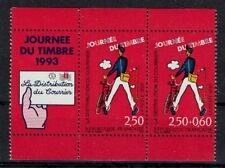 FRANCE TIMBRE - PAIRE 2793A + VIGNETTE - JOURNEE DU TIMBRE 1993 TATI NEUF LUXE**