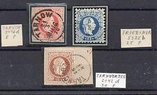 FRANCOBOLLI 1867 AUSTRIA 5+10+15 KR USATI B/5499