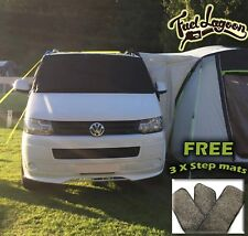 VW T5 windscreen Screen Cover Curtain Wrap Black Out Blind *FREE 3 X STEP MATS*