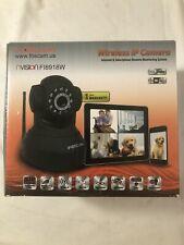 Foscam FI8918W Wireless Pan and Tilt IP Camera w/ 8 Meter Night Vision Open Box